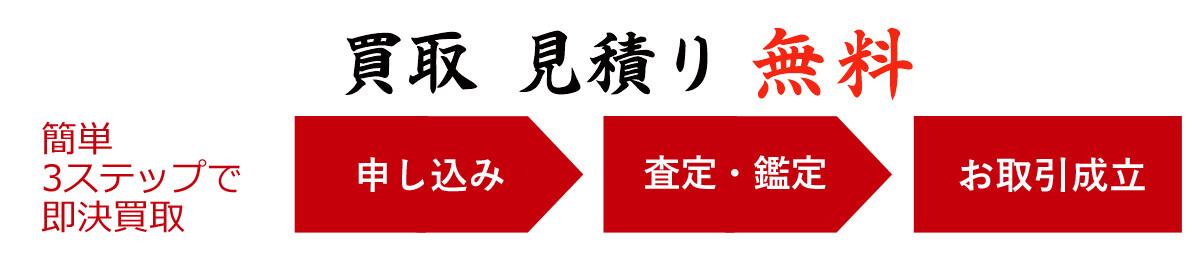 日本画の査定、見積、買取無料
